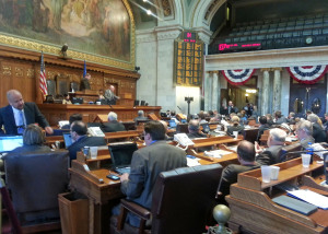 Lawmakers in the Wisconsin State Assembly. (Photo: WRN)