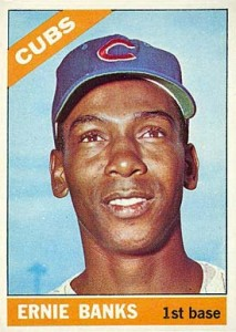 Ernie Banks Rookie Card