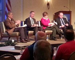 Legislative leaders address the Wisconsin Counties Association (Photo: WRN)