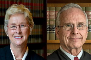 Justice Ann Walsh Bradley, Judge James Daley