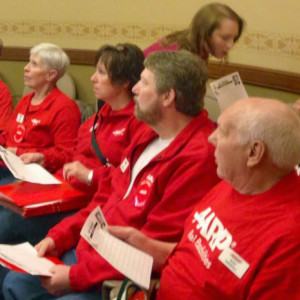 AARP members rally for SeniorCare