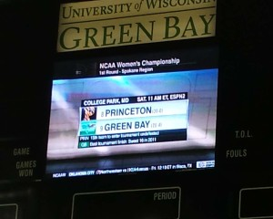 Green Bay's NCAA Draw