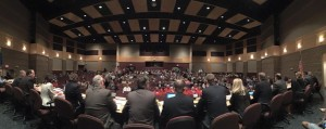 Joint Finance Committee public hearing in Brillion (PHOTO: Twitter post from state GOP)