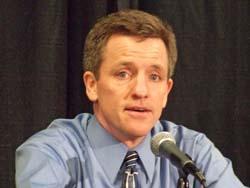 Wisconsin Coach Mark Johnson