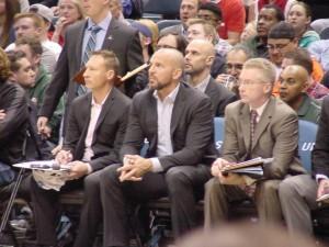 Jason Kidd and his coaching staff
