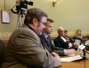 Representative Tittl, Senator LeMahhieu testify before Senate committee