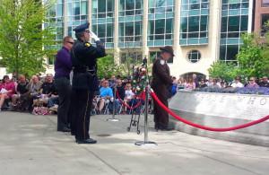 Law Enforcement Memorial ceremony. (Photo: Andrew Beckett)