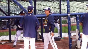 Craig Counsell (right)