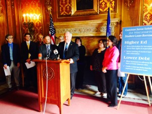 Dems unveil student debt package (WRN photo)
