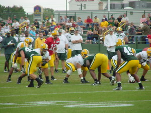 Packers Training Camp Practice