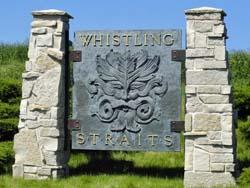 WHISTLING STRAITS ENTRANCE