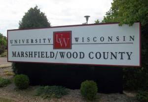 UW Marshfield/Wood County sign (Photo: Terry Pezl)