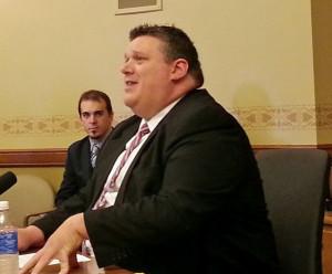 State Treasurer Matt Adamczyk (Photo: Andrew Beckett)
