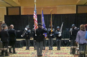 State Patrol color guard (Photo: WRN)