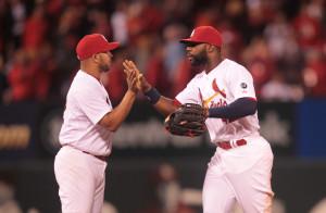 St. Louis Cardinals Jason Heyward: Photo by Bill Greenblatt/UPI
