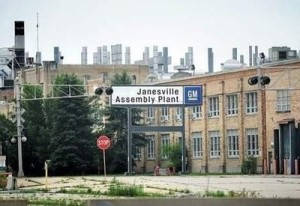 The Janesville GM plant. (Photo: WCLO)