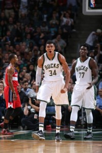 Giannis Antetokounmpo: Photo Courtesy of the Milwaukee Bucks