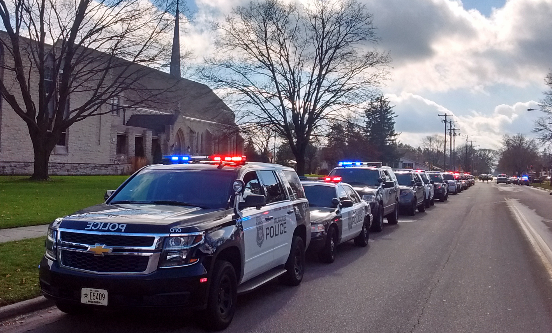 Car Sharing Services >> Fallen McFarland police officer remembered (AUDIO) - Wisconsin Radio Network