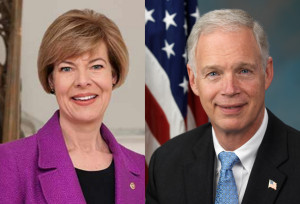 Sen. Tammy Baldwin (D-WI), Sen. Ron Johnson (R-WI)