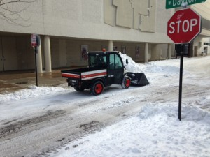 Snow removal in Madison
