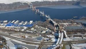 Work on the Saint Croix River bridge (Photo: Minnesota DOT)