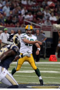 Aaron Rodgers:  UPI/Robert Cornforth