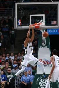 Giannis Antetokounmpo - Photo Courtesy of the Milwaukee Bucks