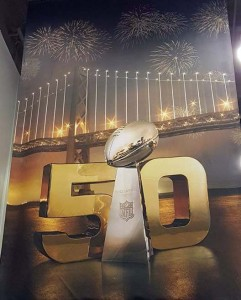 Super Bowl 50 Flag