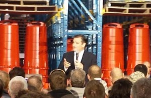 Sen. Ted Cruz in Oshkosh (Photo: WHBY)