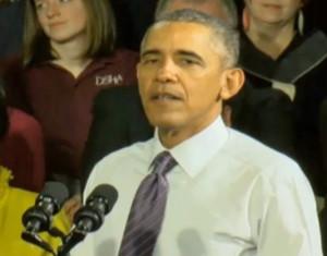 President Obama in Milwaukee