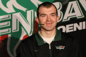 Green Bay Phoenix Radio Play-by-Play voice Matt Menzl