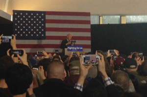 Former President Bill Clinton in Appleton. (Photo: WHBY)