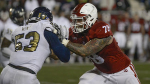 OT Jason Spriggs (78) - Photo courtesy of Indiana University Athletics