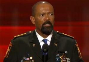 Milwaukee County Sheriff David Clarke (Photo: C-SPAN)