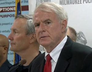 Flynn, Barrett at press conference