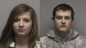 Hailey Brock, Gavin Gilbertson (Photo: Oconto County Sheriff's Department)