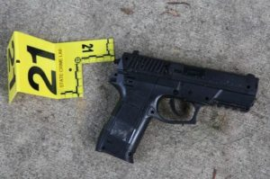 Investigators released this photo of the weapon Kole Knight was carrying when shot (Photo: Wisconsin DOJ)