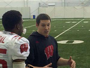 Wisconsin assistant coach Jim Leonard