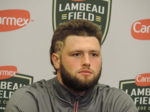 Vince Biegel led the Badgers defense to upset win over LSU