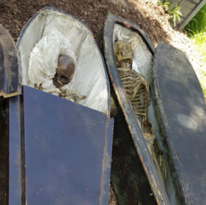 Human Skeletons found at Terror on the Fox. (Photo: Terror on the Fox)