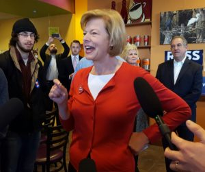 U.S. Senator Tammy Baldwin (Photo: Andrew Beckett)
