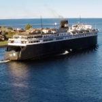 'SS Badger' dock repairs underway