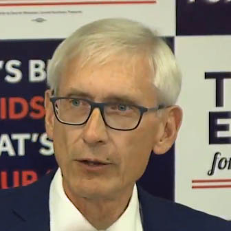 Evers tops crowded Democratic field